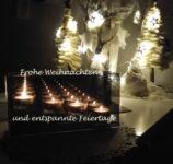 Die Wohlfühl-Oase Lennep wünscht entspannte, besinnliche und fröhliche Weihnachten